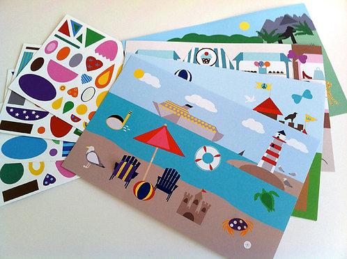 Make-a-Scene Sticker Set 5 (ages 7+) Cafe