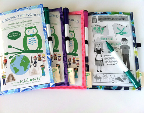 Around The World Smart Sleeve® Set Ages 7-9