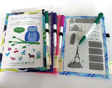 The Fun Pages ages 7-9 Smart Sleeve® Set