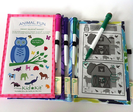 Animal Fun ages 7-9 Smart Sleeve® Set