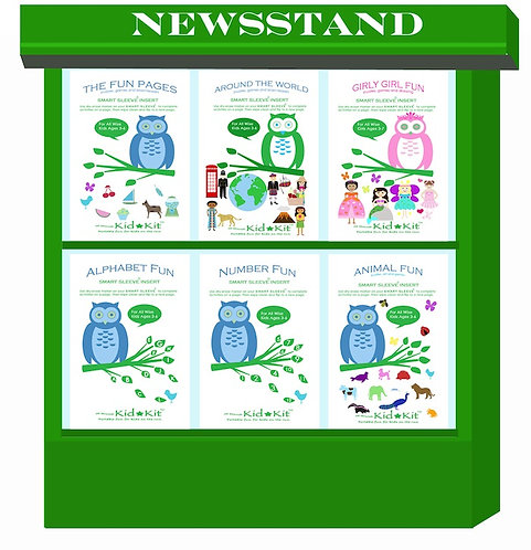 Smart Sleeve® Insert Booklets For Ages 3-6