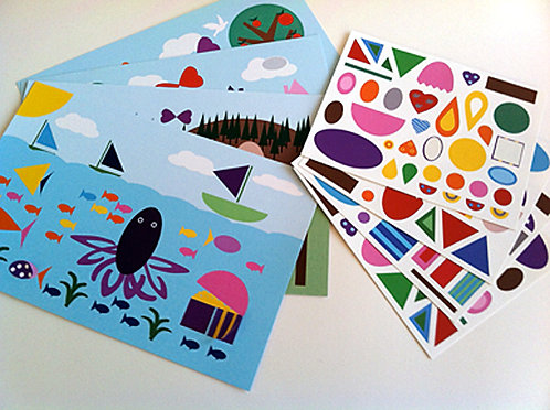Make-a-Scene Sticker Set 1 Ocean
