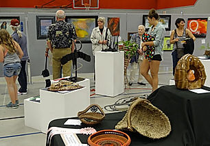3-D Art at Azalea Festival Art Show sponsored by PBAA
