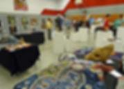 Fiber Art entries at Azalea Festival Art Show & Sale