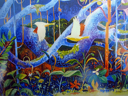 Buzz Stewart - From Sign Painting to birds, oceans, rivers and mountains
