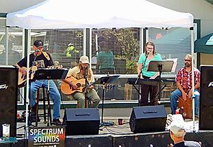 Festival of Art in Stout Park - Musicians Spectrum Sounds