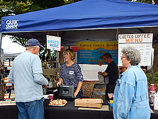 Festival of Art in Stout Park - Coffee Booth