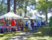 Path at Festival of Art in Stout Park