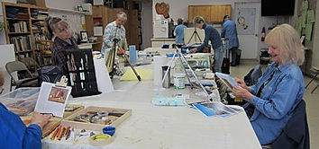 PBAA Tuesday Painters at Manley Art Center
