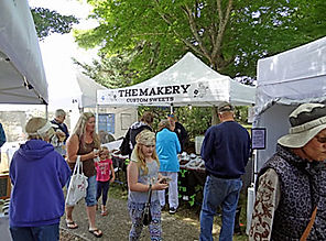 Festival of Art in Stout Park - Candy booth
