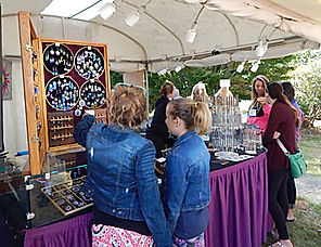 Festival of Art in Stout Park - Jewelry Booth