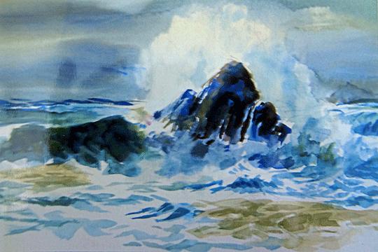 Crashing-Surf-Watercolor