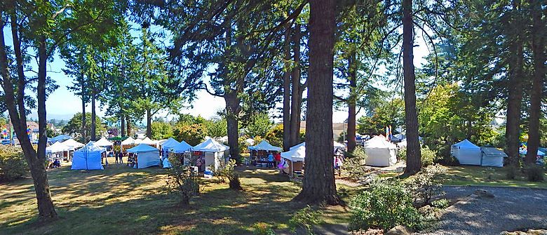 Festival of Art in Stout Park Booths