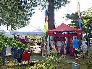 Festival of Art in Stout Park - ABC Creations Booth