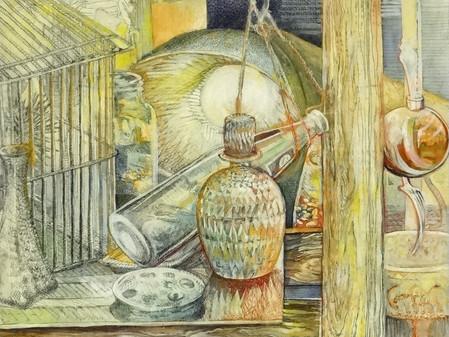 Manley Art Center Gallery Featured Artist for October ROBERT LORTSCHER – Using sketchbook journals t