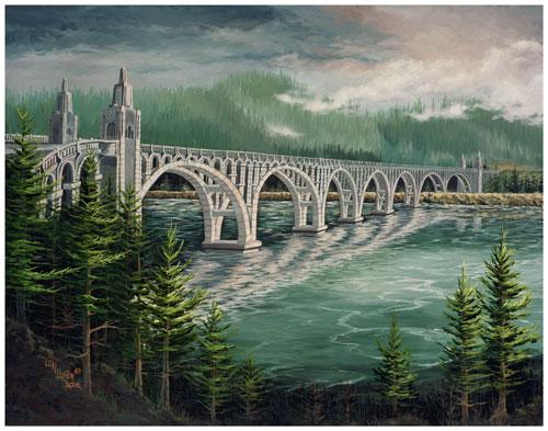 Len Burton_Gold-Beach-Bridge
