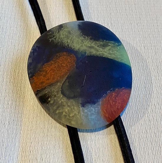 stone glass ループタイ