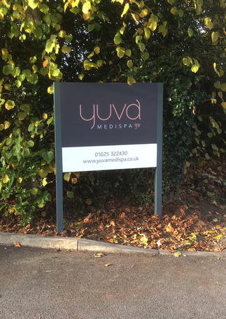 External entrance signage