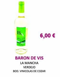 Vino Blanco Baron de Vis