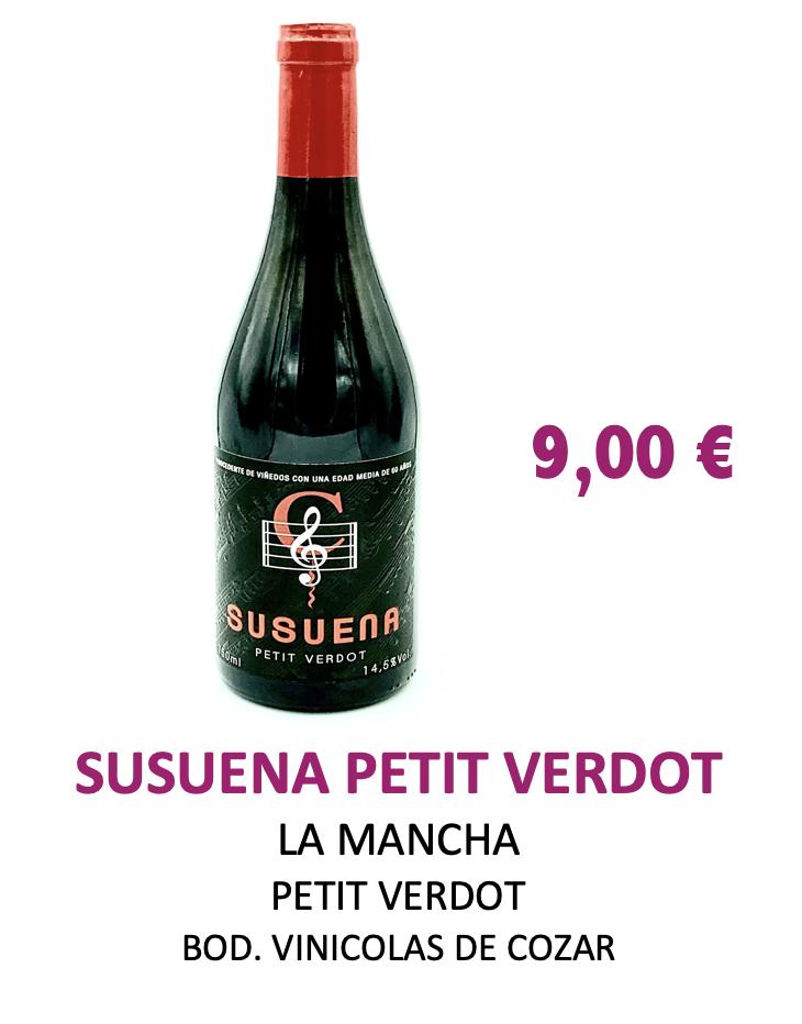 Vino Susuena Petit Verdot