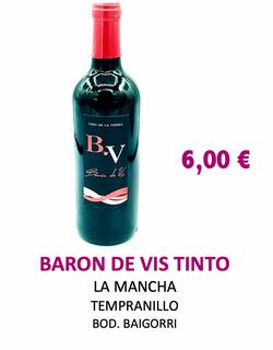Vino Tinto Baron de Vis