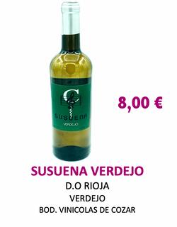 Vino Blanco Susuena Verdejo