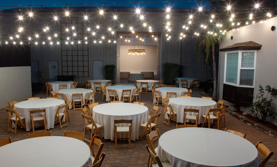 Red Gum Courtyard and Open Air Stage