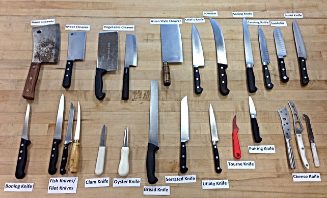 Types of knives?