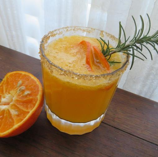 Tangerine Rosemary Gin Fizz
