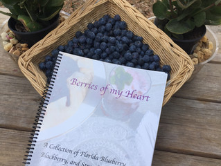 Berries of my Heart; A Collection of Florida Blueberry, Blackberry and Strawberry Recipes