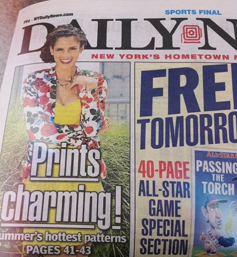 Daily News cover :)