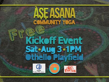 Community Yoga Kickoffs Aug. 3
