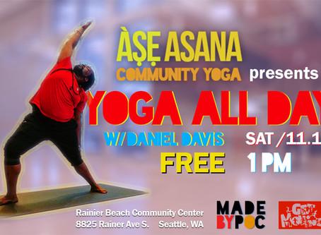 FREE Yoga Workshop, Nov. 16