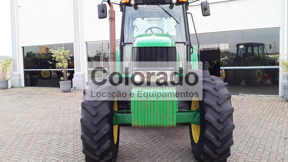 Trator 6190 J -4x4-Ano 2017-8510 Horas