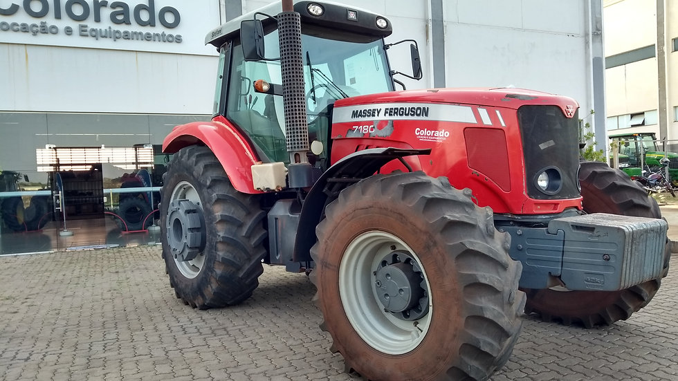 Tractor Mf 7180 - Year  2012 - 7712 Hours