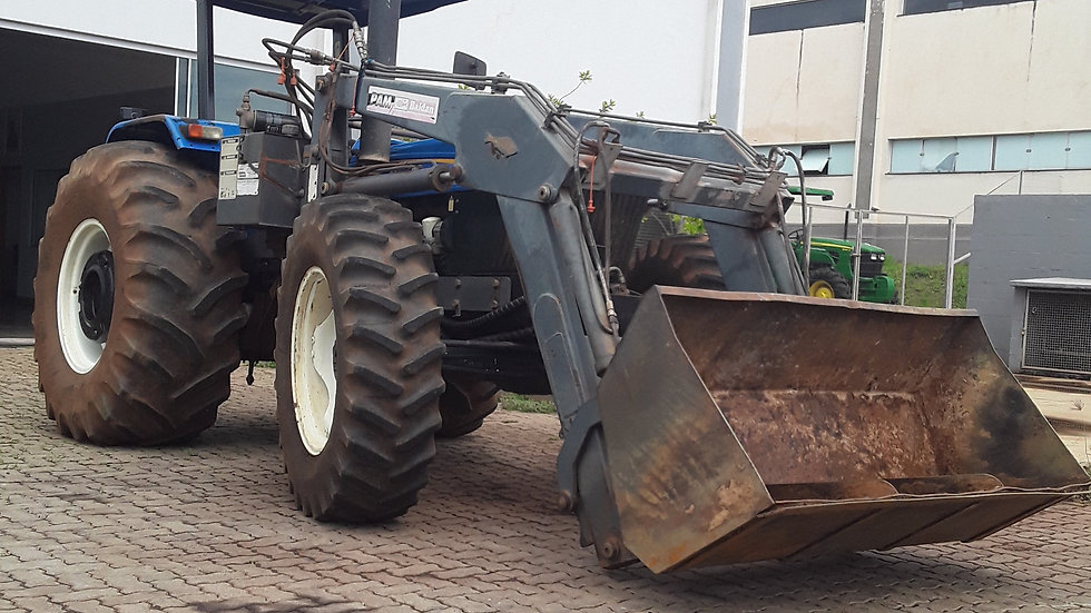 Tractor NH 7630 4x4  Blade and Shell Set