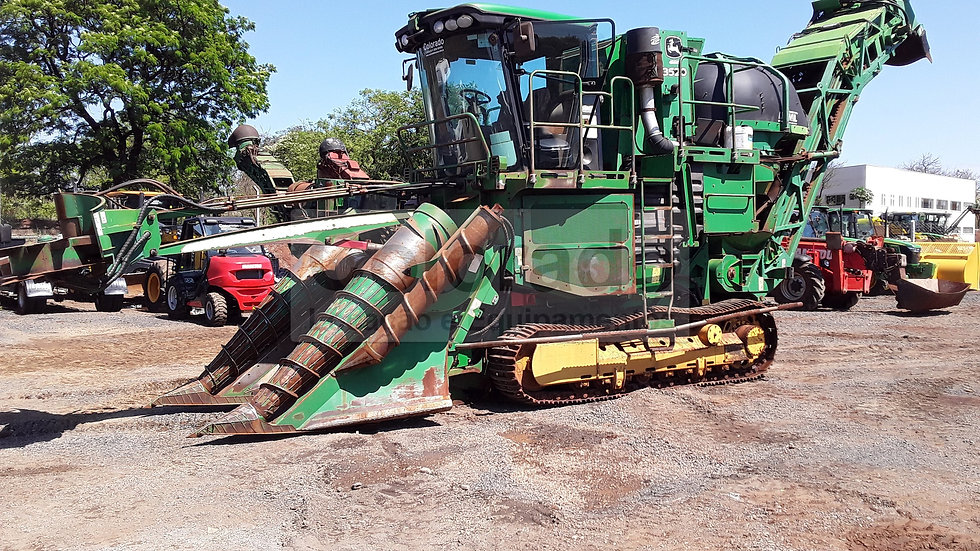 Sugarcane Harvester 3520-Year 2013 -New Motor