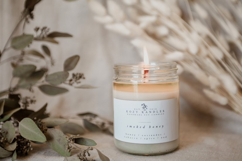 Smoked Honey Soy Candle