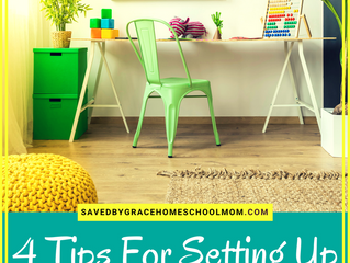 4 Tips For Setting Up A Successful Homeschool Space