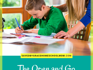 The Open and Go Curriculum That Will Make Homeschooling EASY!