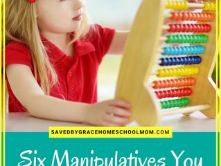 Six Manipulatives You Need for Smooth Homeschool Math
