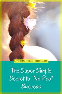 "The Super Simple Secret to ""No Poo"" Success"