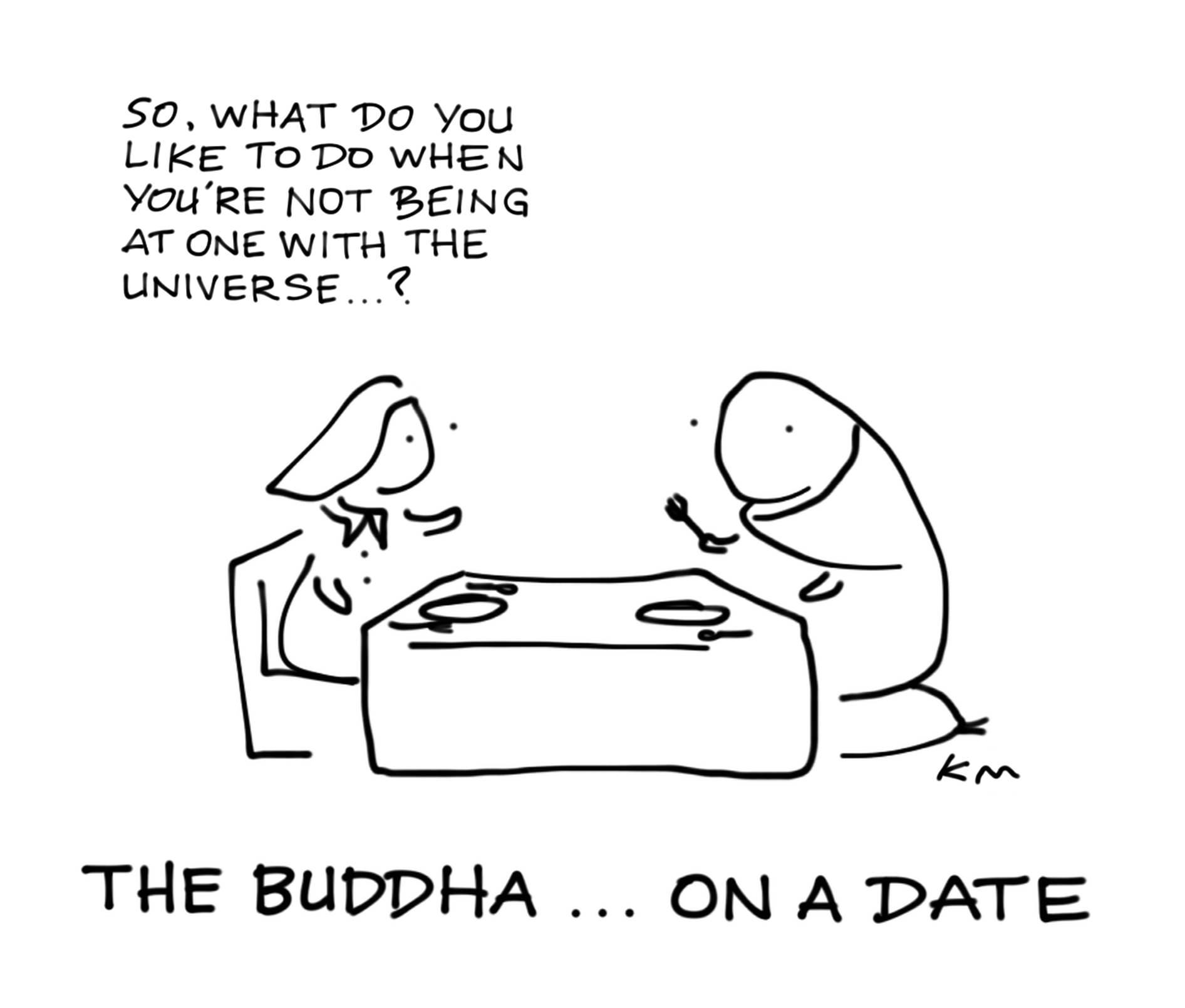 BUDDHA ON A DATE