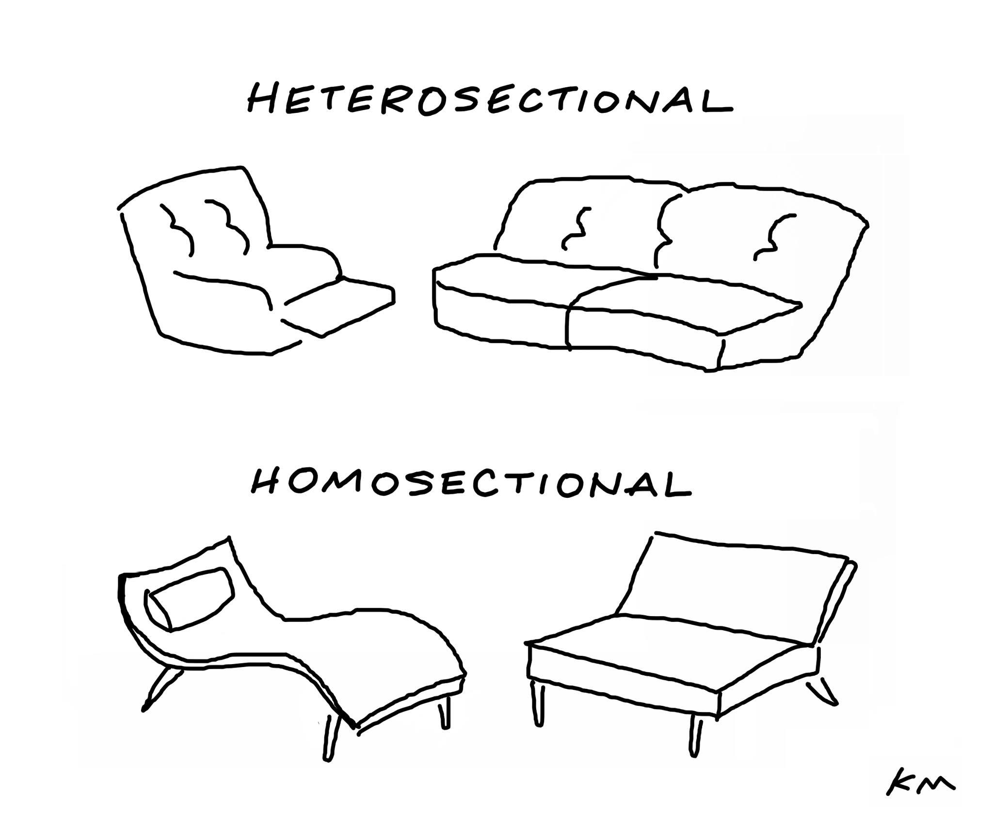 HETEROSECTIONAL