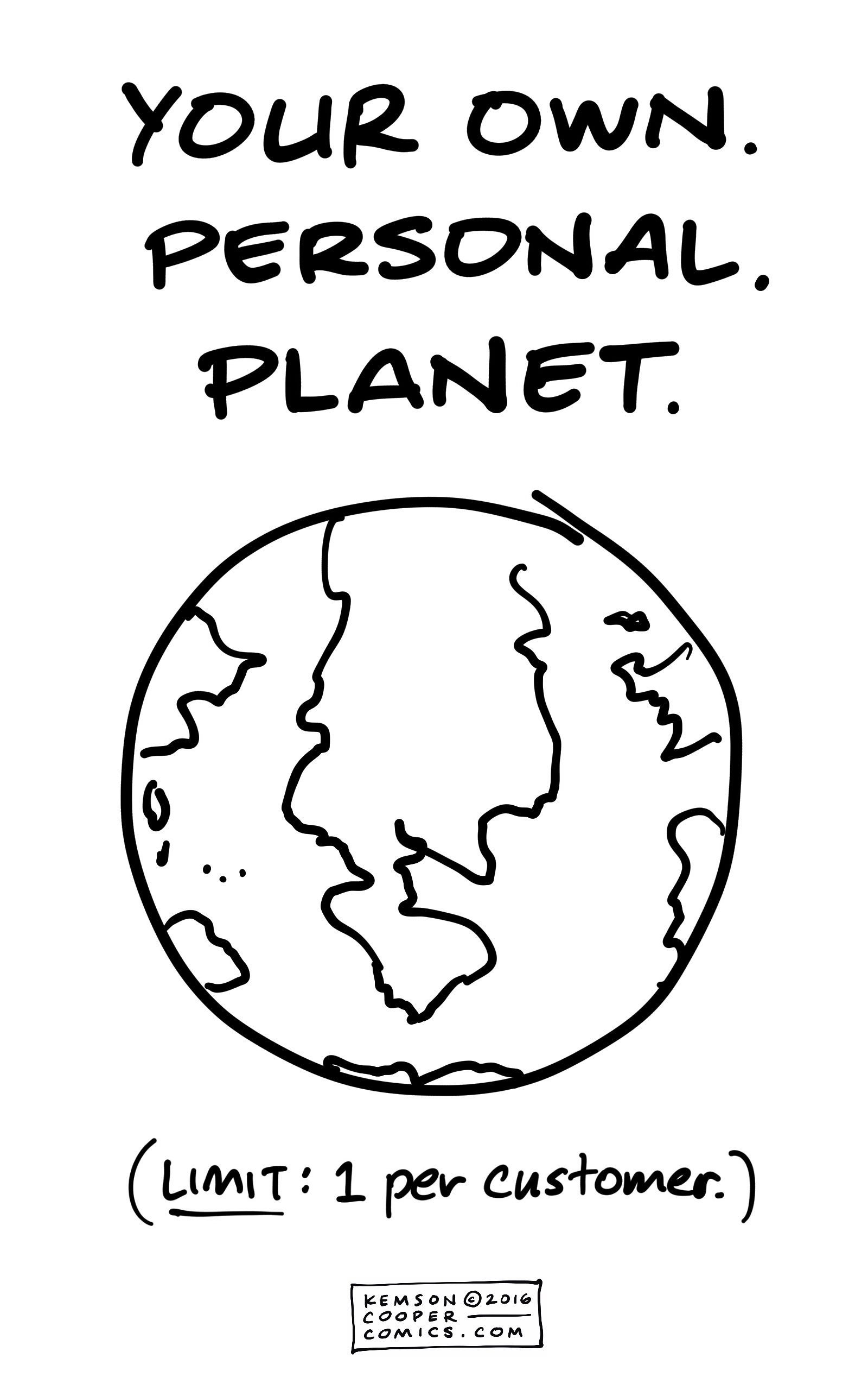 OWN PERSONAL PLANET-Tagged