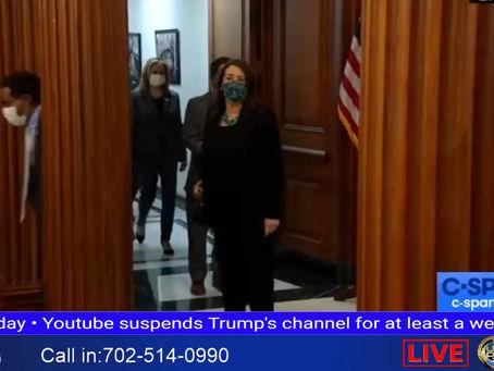 Pelosi Signs Impeachment
