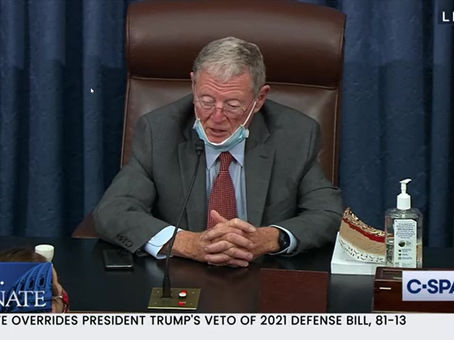 In the Senate today