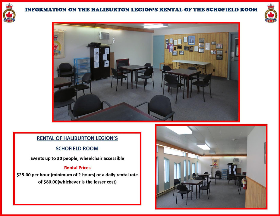 Schofield Room  Rental Promo updated Mar