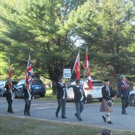 5. Haliburton Legion Colour Party Marching on.jpg