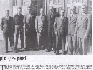 Trip Down Memory Lane: Legion Officers 1951